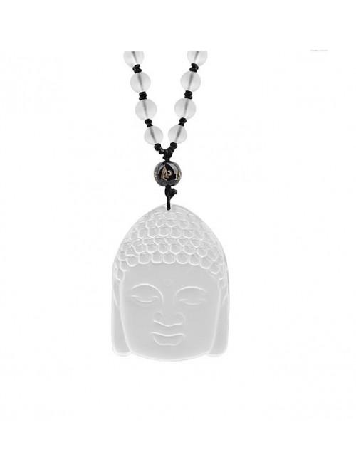 Náhrdelník Buddha křišťál