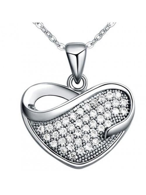 Náhrdelník Láska stříbrný