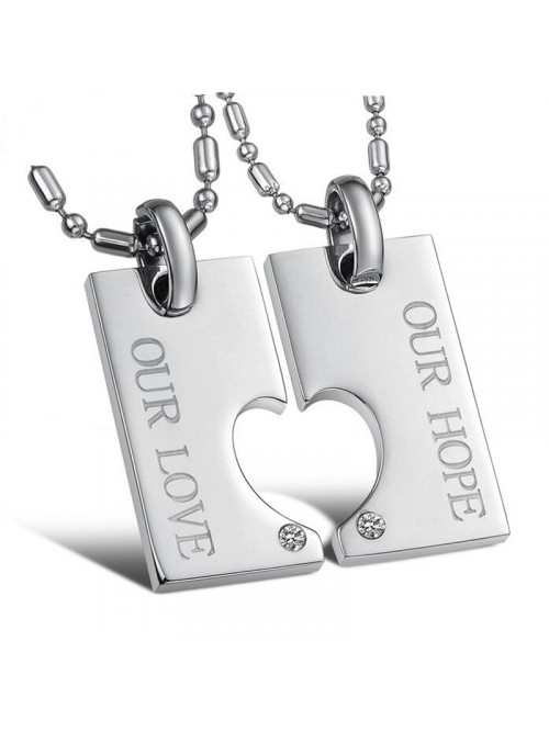 Náhrdelník pro dva Our love, Our hope
