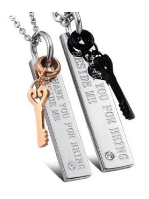 Náhrdelník pro dva Keys Of Love