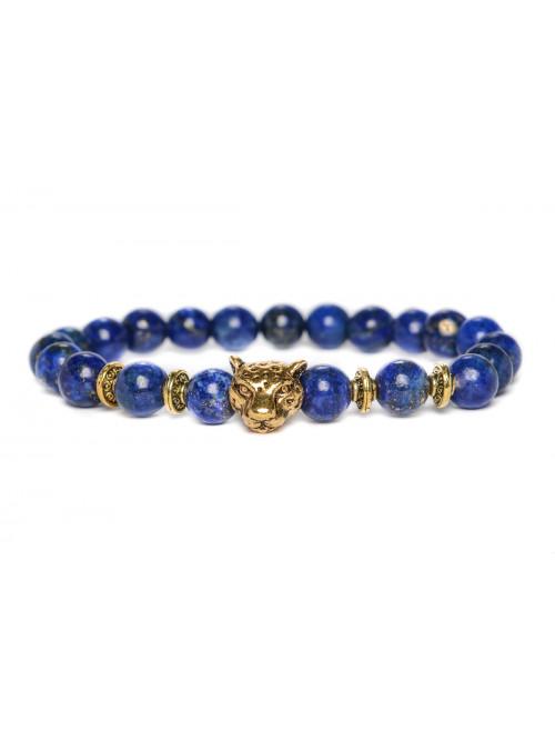 Náramek Jaguár - lapis lazuli