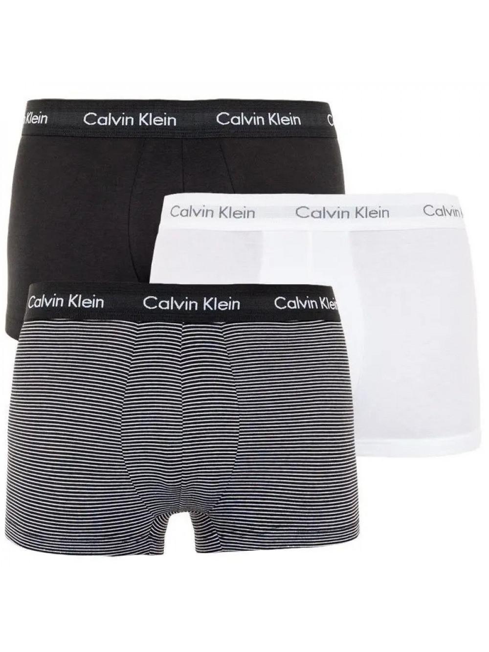 Pánské boxerky Calvin Klein Low Rise 3-pack