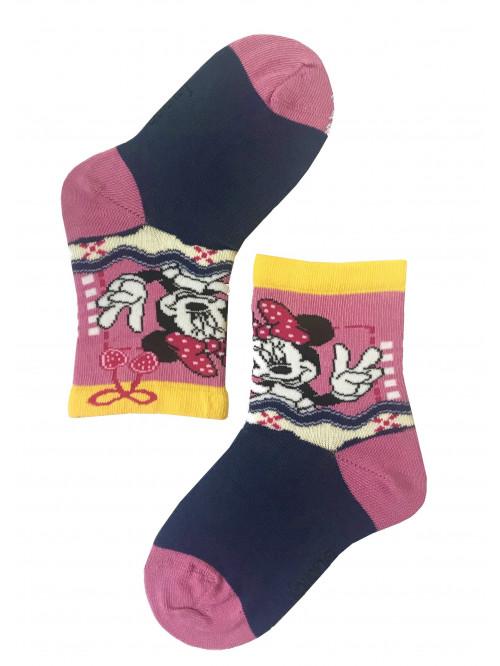 Detské ponožky Gatta Minnie Mouse pink&blue