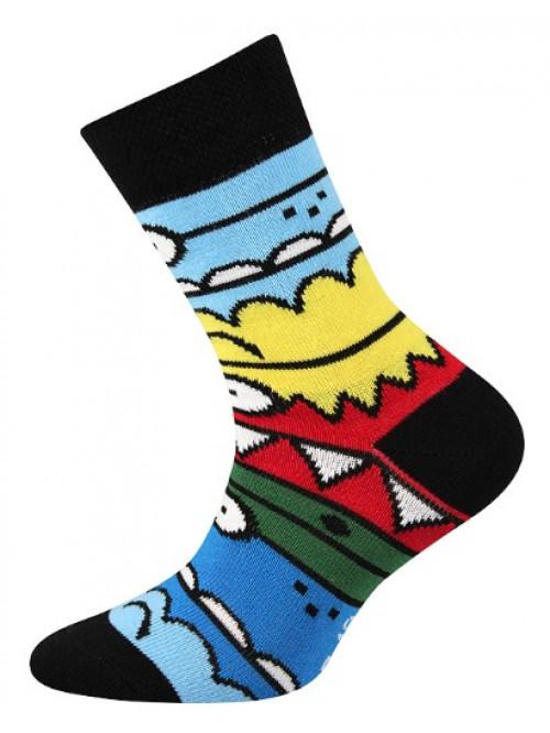 Dětské ponožky Boma Monster Black