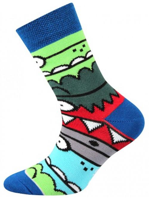 Dětské ponožky Boma Monster Blue