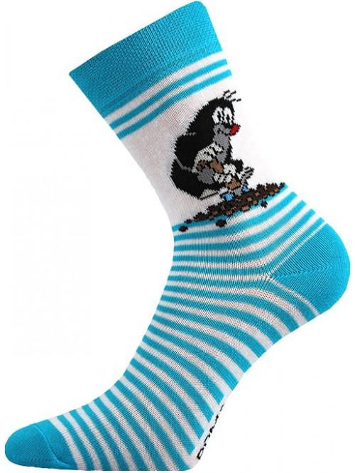 Dětské ponožky Boma Krtek Tyrkys