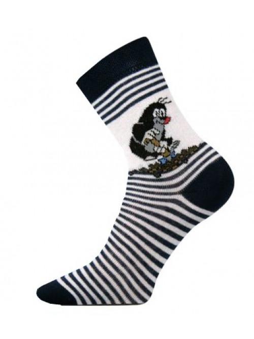 Dětské ponožky Boma Krtek Tmavě modré