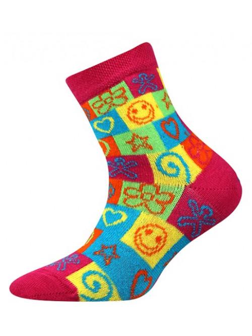 Dětské ponožky Boma Larik Hippies bc861fd07b