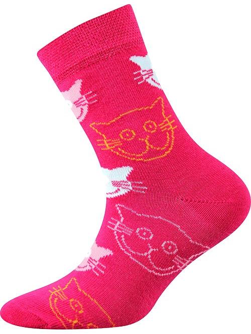 Dětské ponožky Boma s kočičkami