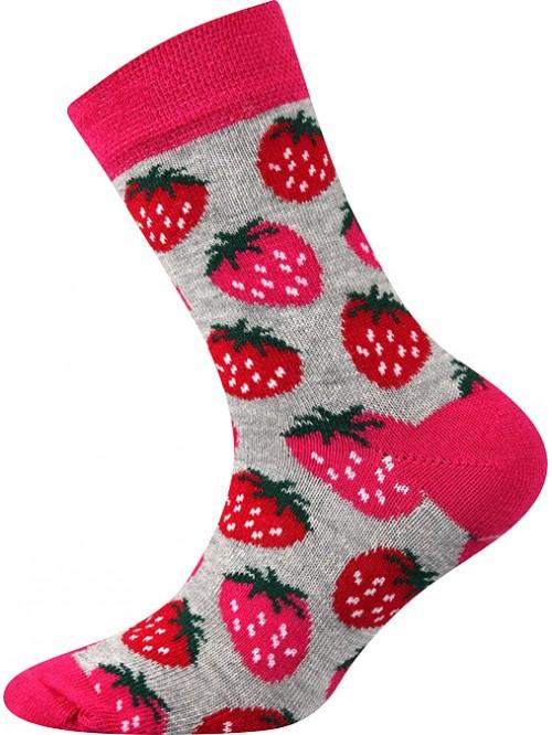 Dětské ponožky Boma jahůdka
