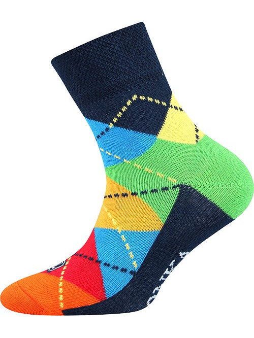 Dětské ponožky Lonka Color Retro