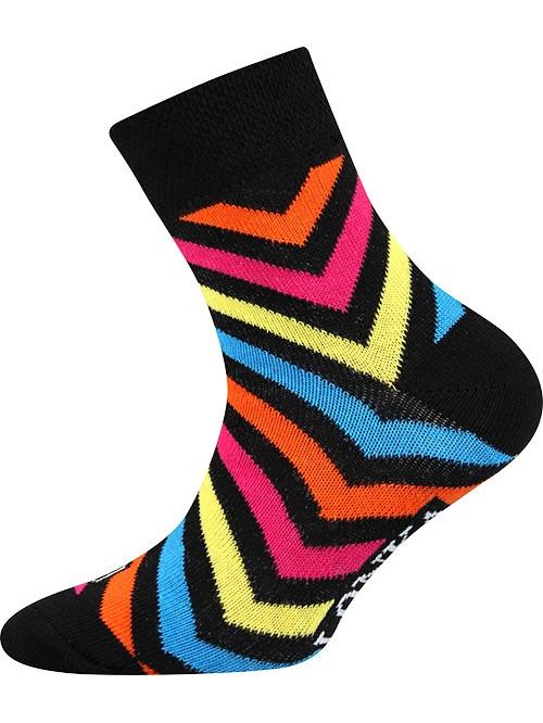 Dětské ponožky Lonka Striped Black