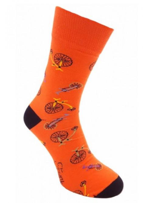 Ponožky Foxysoxy Kolo oranžové