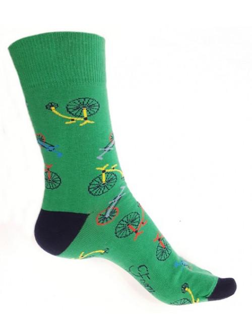 Ponožky Foxysoxy Kolo zelené