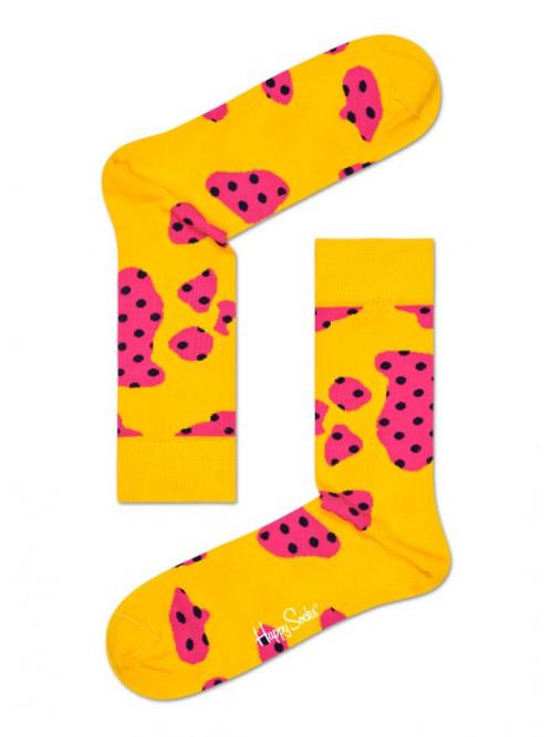 Ponožky Happy Socks Cow Yellow