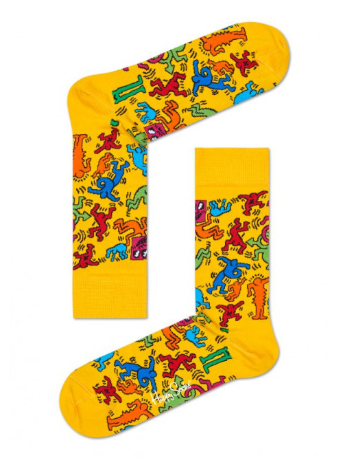 Ponožky Happy Socks Valentine's Day Yellow