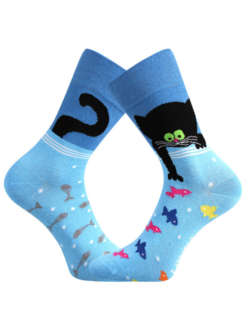 Ponožky Kocourek Lonka Doble