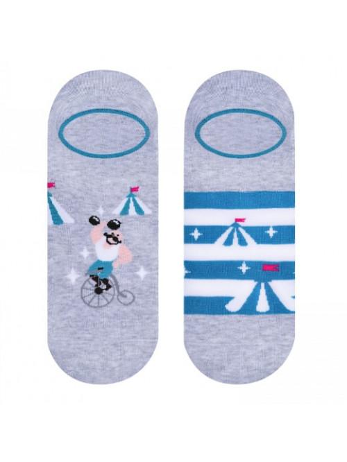 Ponožky More Cirkus šedé