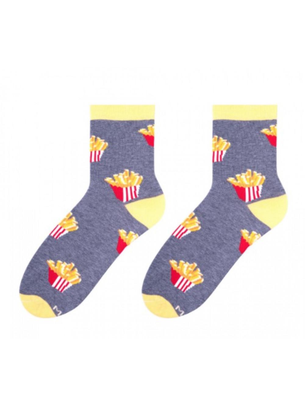 Ponožky More Fries so vzorom Hranoliek 00e79c14c9