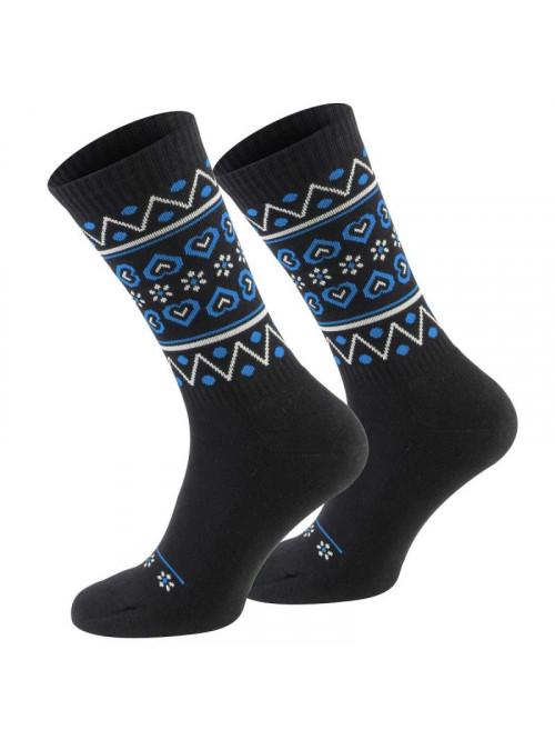 Ponožky Walker's Folk černo-modré