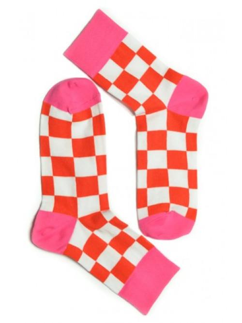 Ponožky Tatrasvit Saso oranžovo-bílé