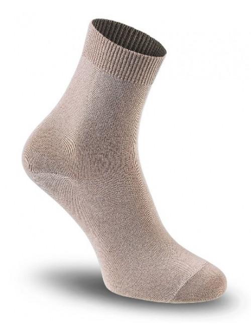 Dámské ponožky Tatrasvit Vikta se stříbrem béžové