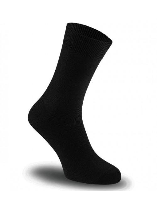 Ponožky Tatrasvit Hupoj se stříbrem černé