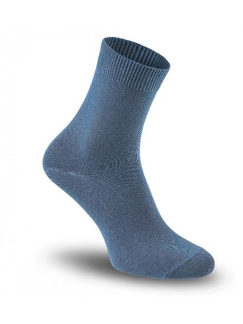 Dámské ponožky Tatrasvit Vikta se stříbrem modré