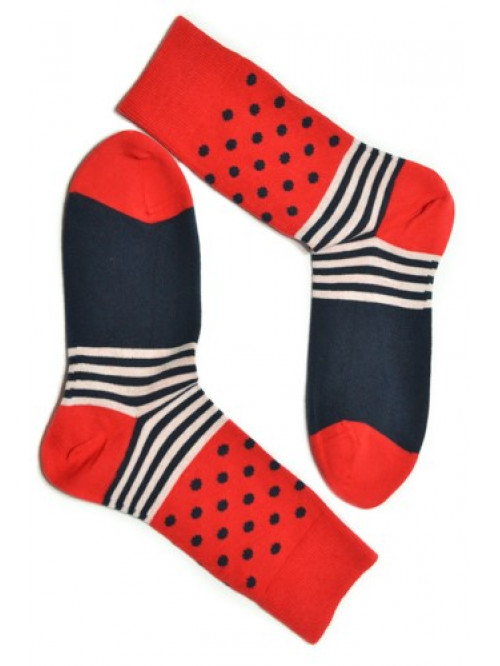 Ponožky Gugo Tatrasvit červené