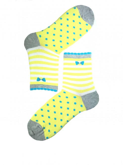 Ponožky Wola Perfect Woman žluté