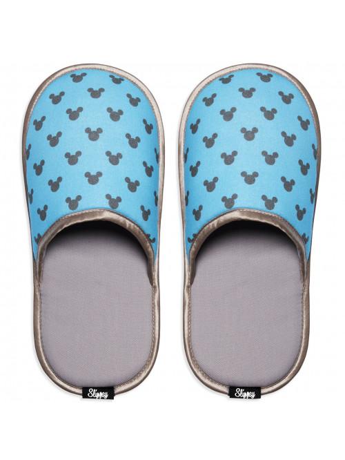 Papuče Slippsy Mickey Modré