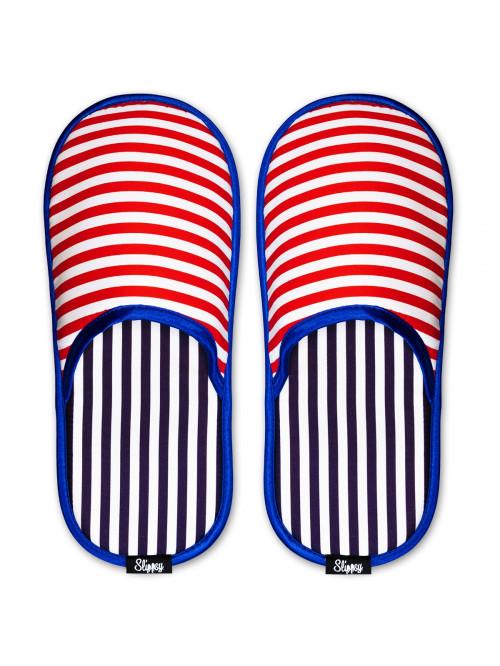 Papuče Slippsy Magic Stripes