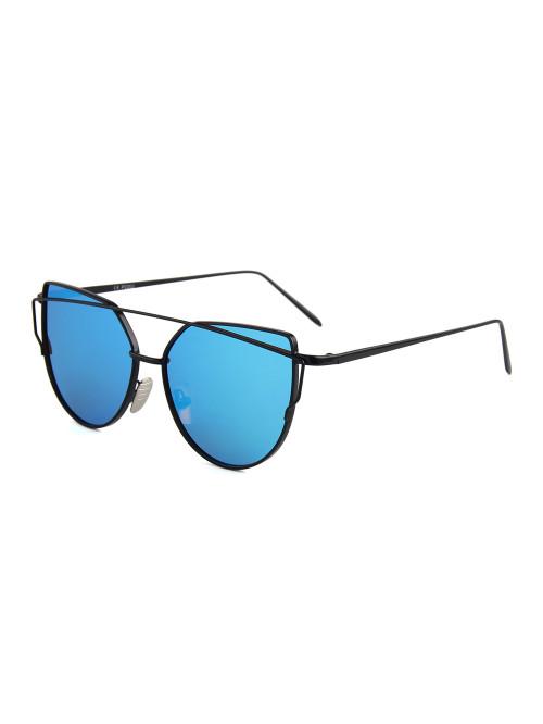 Sluneční brýle Crossbar Cat Eyes Dark Blue