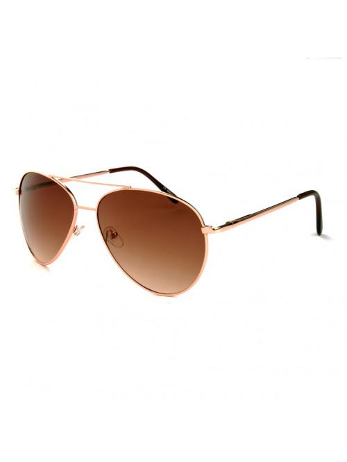 Sluneční brýle Aviator Pilot Big Bronze