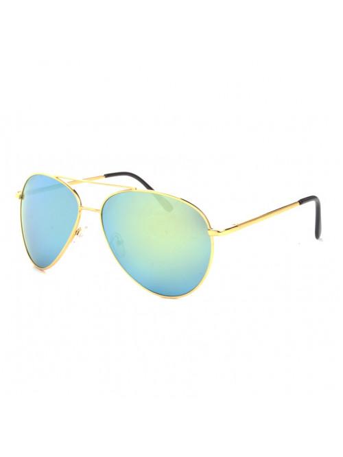 Sluneční brýle Aviator Pilot Big Green