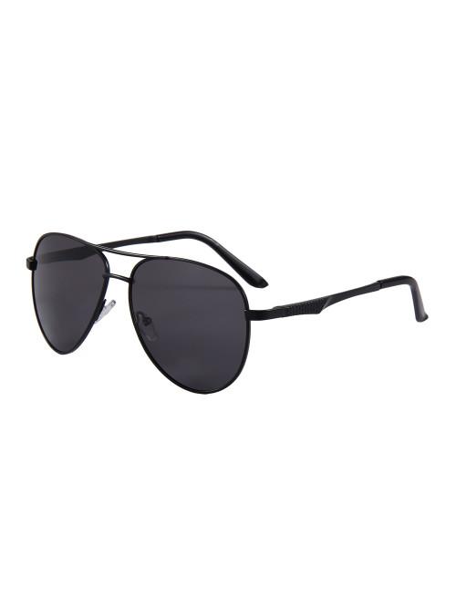 Sluneční brýle Aviator Premium Black polarizační