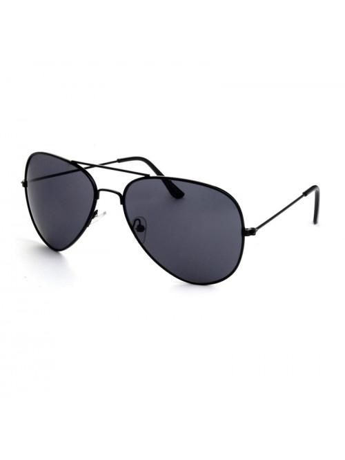Sluneční brýle Aviator Pilot Jet Black polarizační