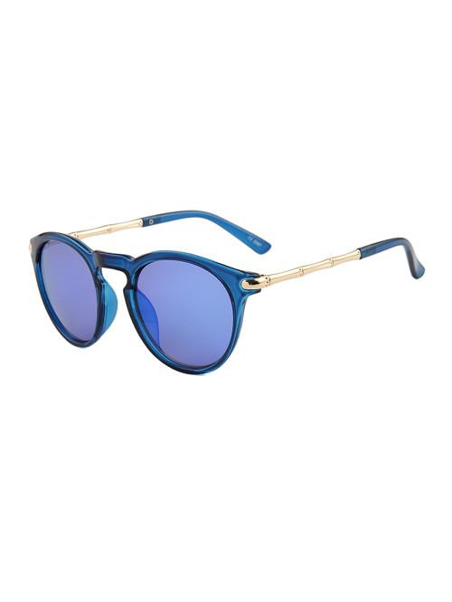 Sluneční brýle Keyhole Round Blue