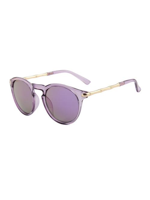Sluneční brýle Keyhole Round Purple
