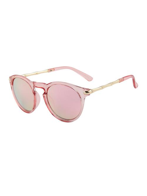 Sluneční brýle Keyhole Round Pink