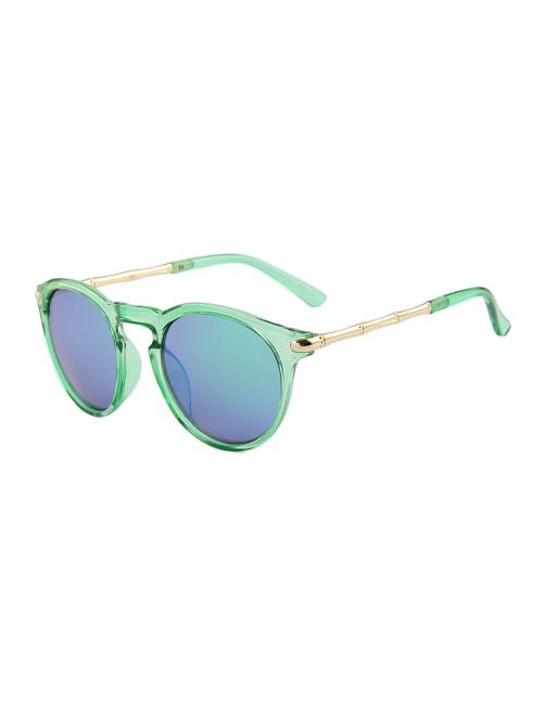 Sluneční brýle Keyhole Round Green