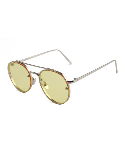 Sluneční brýle Hipster Yellow