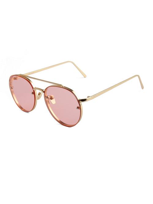 Sluneční brýle Hipster Pink