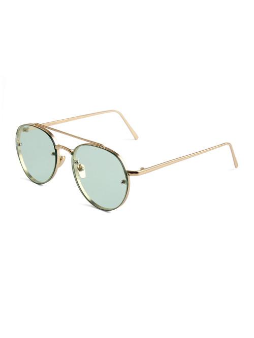 Sluneční brýle Hipster Green