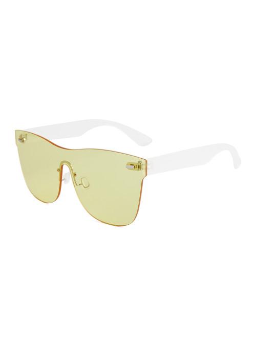 Sluneční brýle Block Yellow
