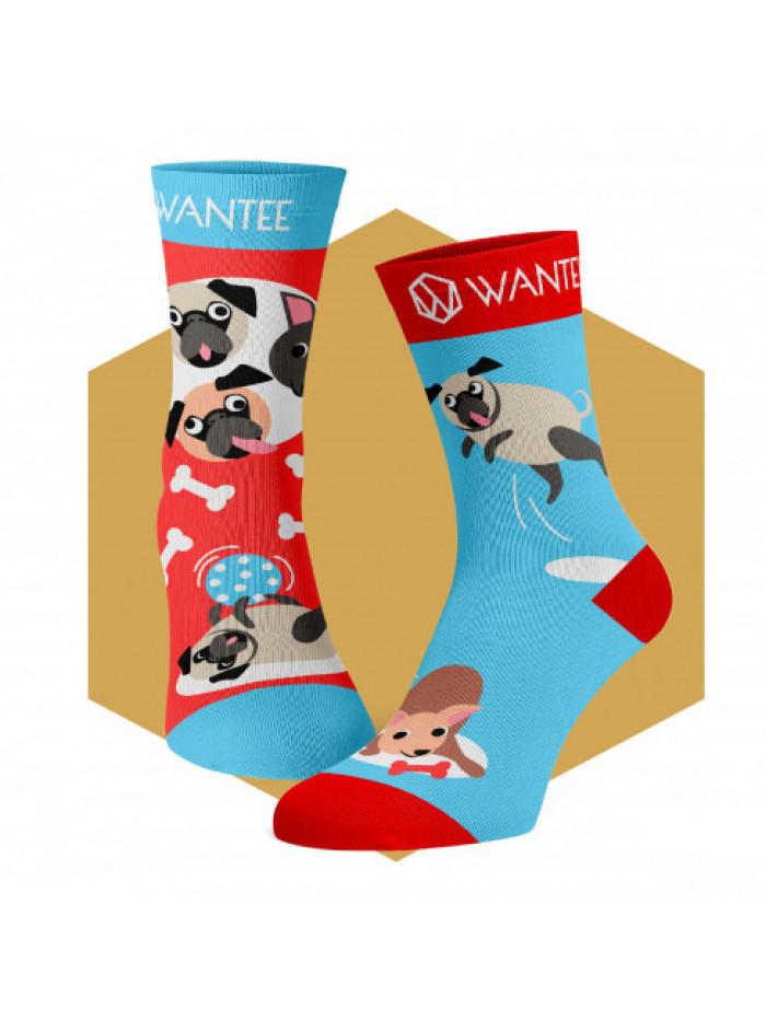 Dětské ponožky Hraví Pejsci Wantee