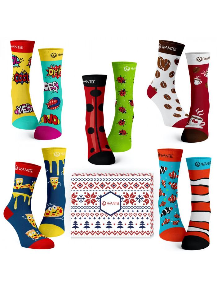Ponožky Best Of Wantee 5-pack dárkový box