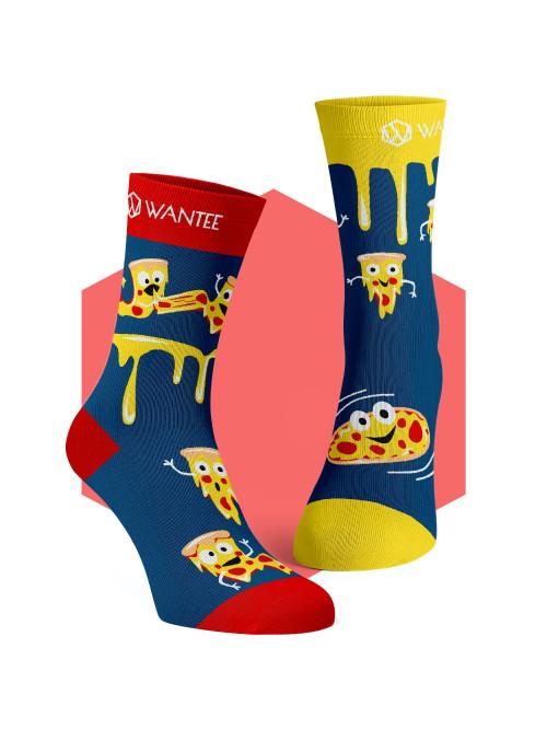 Ponožky Crazy Pizza Wantee