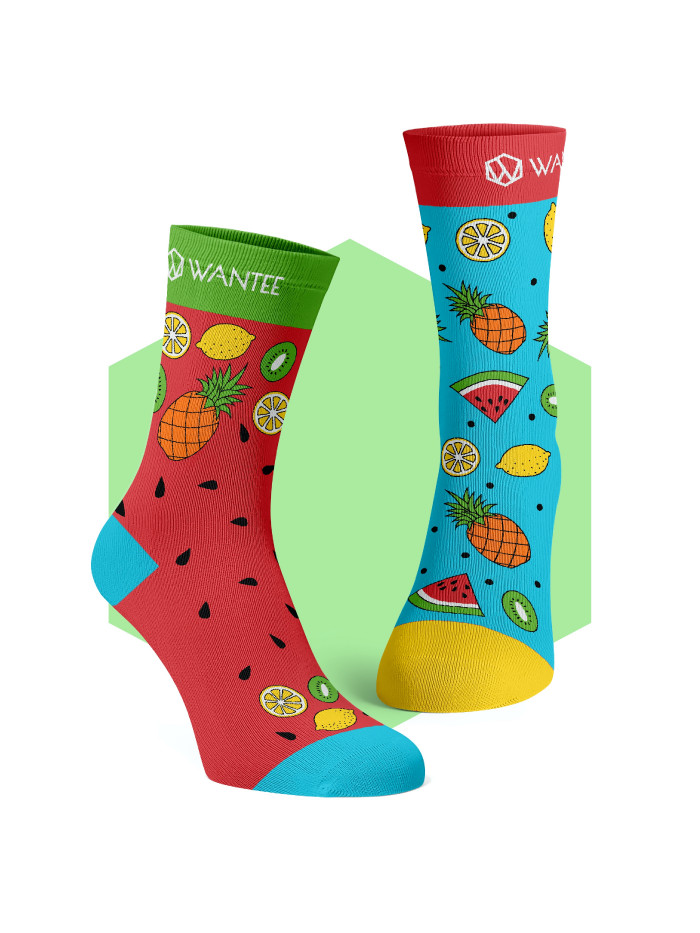Ponožky Exotické ovoce Wantee