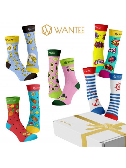 Ponožky Wantee Fresh 5-pack darčekový box